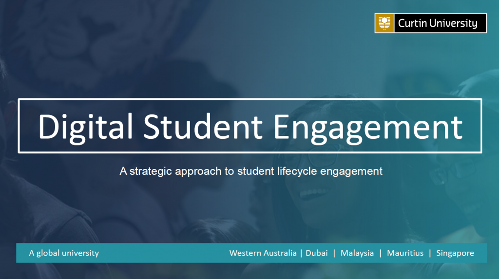 Using a Strategic Approach to Student Lifecycle Engagement to Create the Right Message, at the Right Time, on the Right Channel to the Right Student