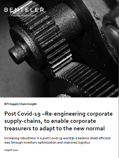 Benteler Report: Post Covid-19: Re-engineering corporate supply-chains, to enable corporate treasurers to adapt to the new normal