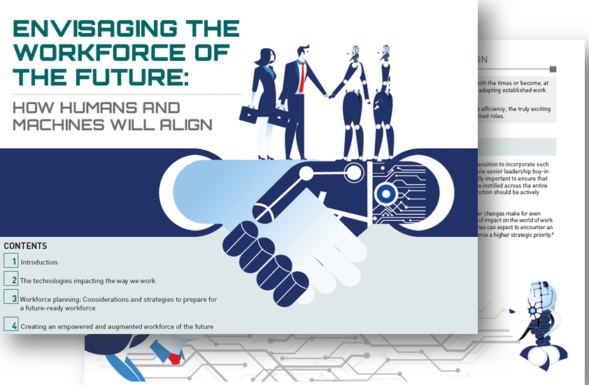 Envisaging the workforce of the Future: How humans and machines will align
