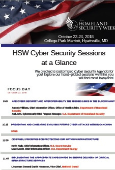 HSW - Cyber Security Agenda-at-a-Glance