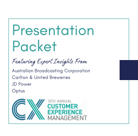 Presentation Packet | Customer Experience Management 2020