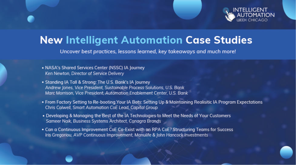 Your Sneak Peak Look at Our New Robotic Process Automation Case Studies