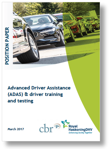 Report: Advanced Driver Assistance (ADAS) & driver training and testing by Royal Hoskoning DHV