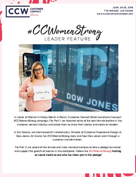 #CCWomenStrong Feature: Ali Lichetenstein