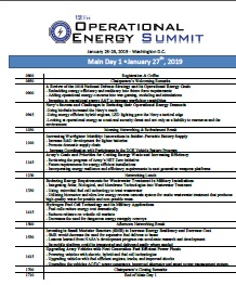Download the 2019 Operational Energy Preliminary Agenda