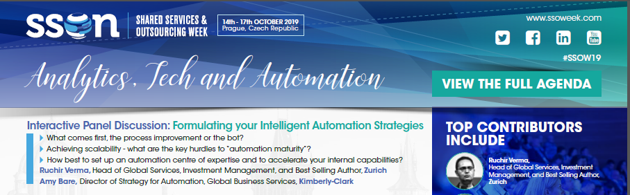 Analytics, Tech and Automation at SSOW Autumn