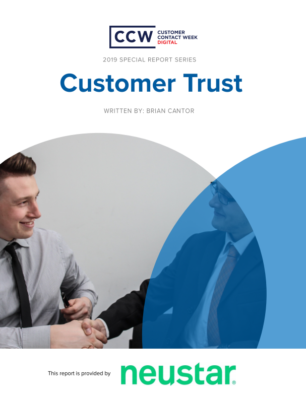 Special Report: Customer Trust