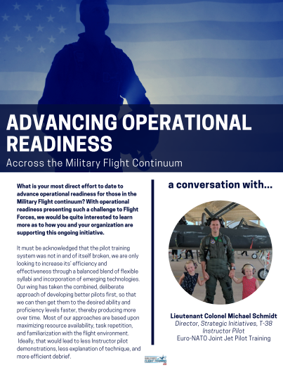 Advancing Operational Readiness Across the Military Flight Continuum