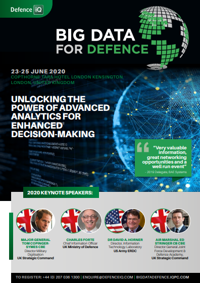 Download the 2020 Programme l Big Data for Defence Summit