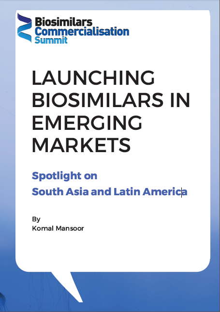Launching Biosimilars in Emerging Markets