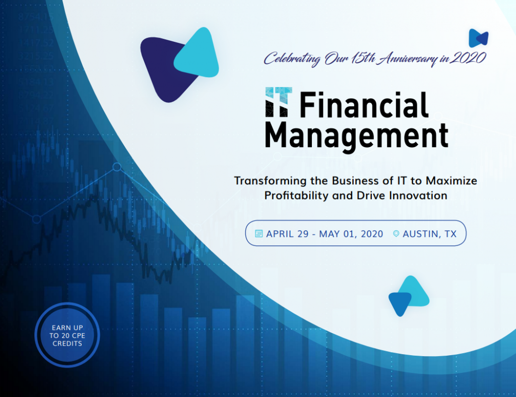 IT Financial Management Week Sponsorship Agenda