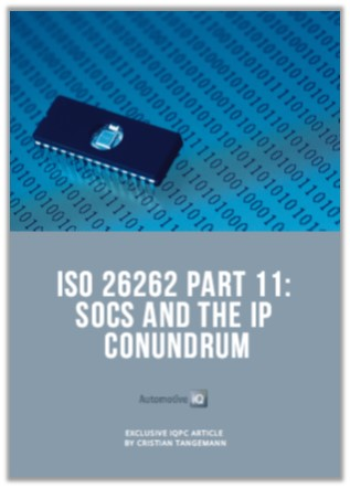 Automotive IQ Article: ISO26262 Part 11 - SOCS and the IP Conundrum