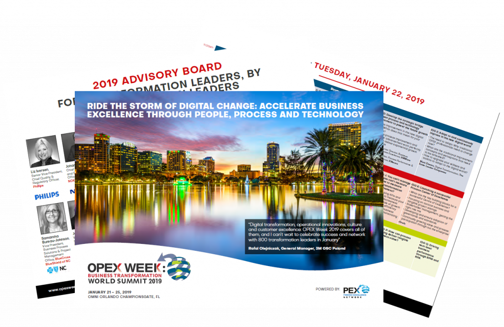 Download OPEX Week 2019 Event Guide
