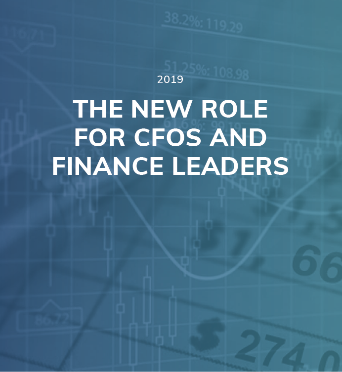 The New Role for CFOs and Finance Leaders
