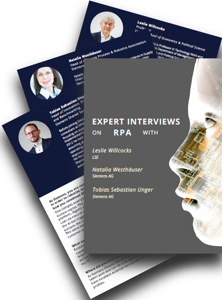 Expert Interviews on RPA 2018