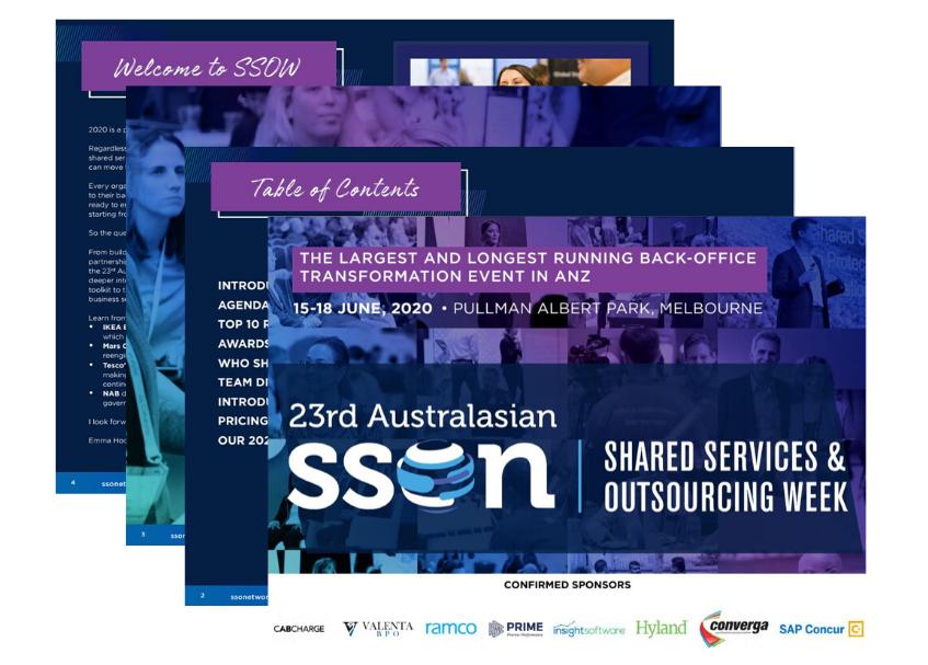 SSOW 2020 Event Guide