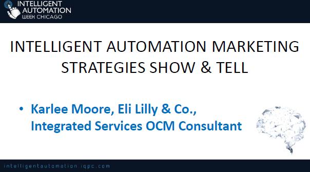 Eli Lilly's Intelligent Automation Marketing Strategies