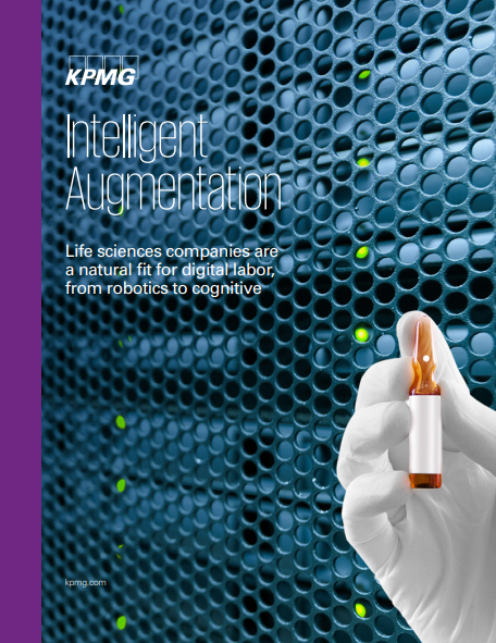 Intelligent Augmentation: Life sciences companies are a natural fit for digital labor, from robotics to cognitive