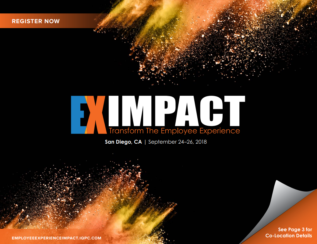 EX Impact Fall - Access the Agenda!