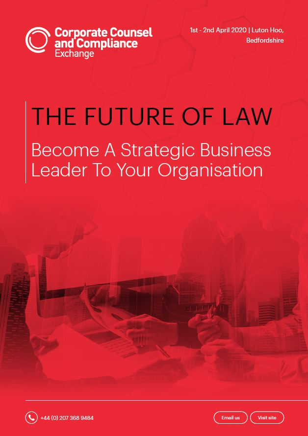 THE FUTURE OF LAW Become A Strategic Business Leader To Your Organisation