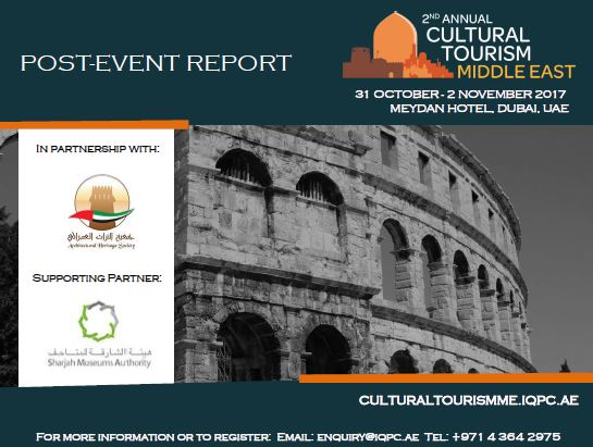 Post-event report: 2nd Annual Cultural Tourism Middle East