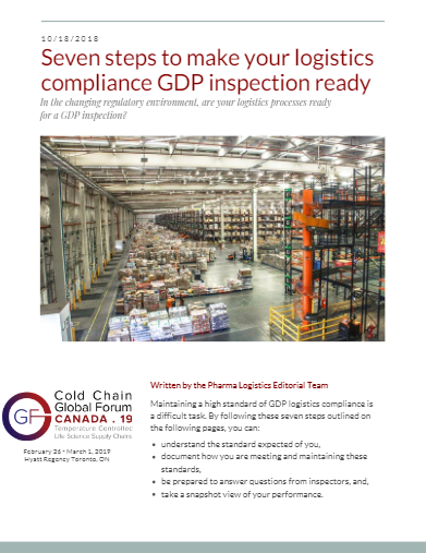 Are Your Logistics Processes Ready for a GDP Inspection?
