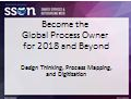 Masterclass: Global Process Owner for 2018 & Beyond