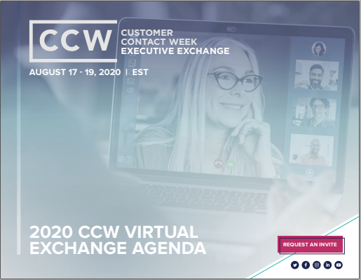 View Full Event Agenda | CCW Virtual Exchange August 2020