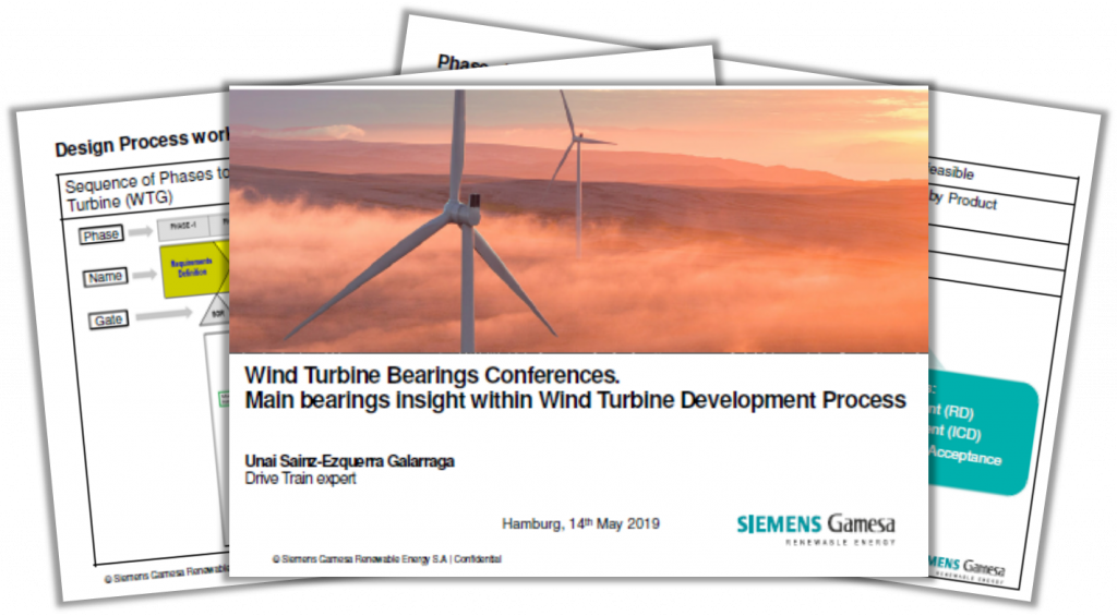 Siemens Presentation on Main Bearings Insight within Wind Turbine Development Process