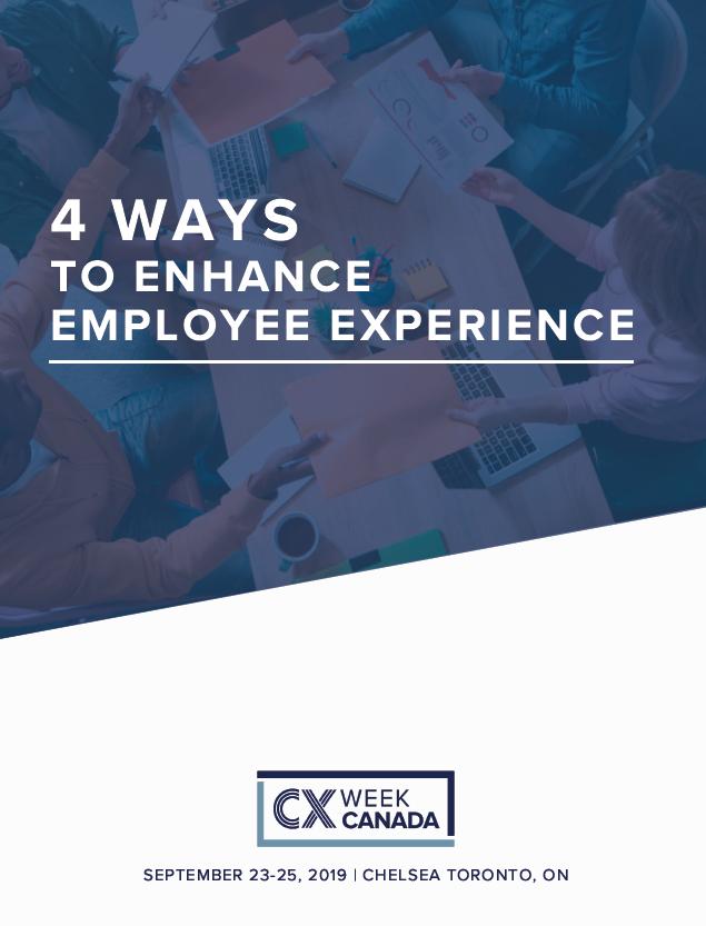 4 Ways to Enhance Employee Experience