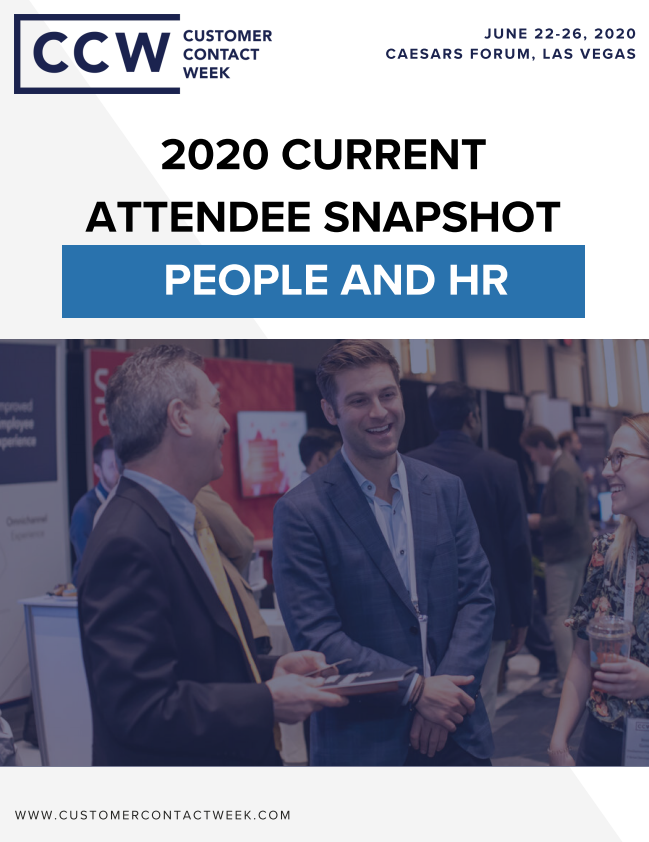 2020 People And HR Attendee Snapshot | CCW Vegas