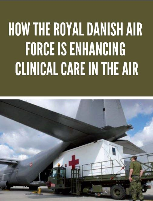 How the Royal Danish Air Force is enhancing clinical care in the air