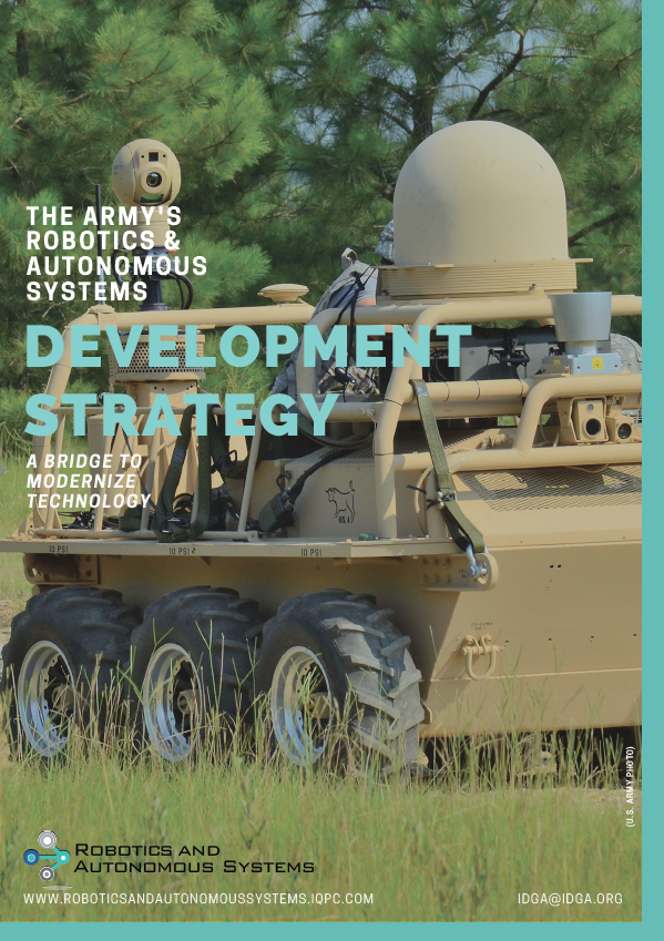 A Bridge to Modernization: Inside the U.S. Army's Robotics and Autonomous Technology Strategy