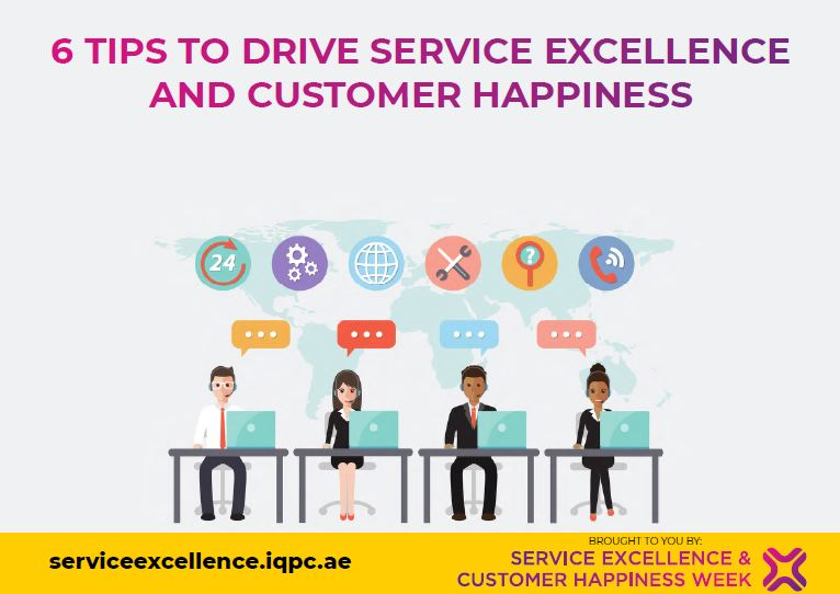 6 tips to drive service excellence and customer happiness