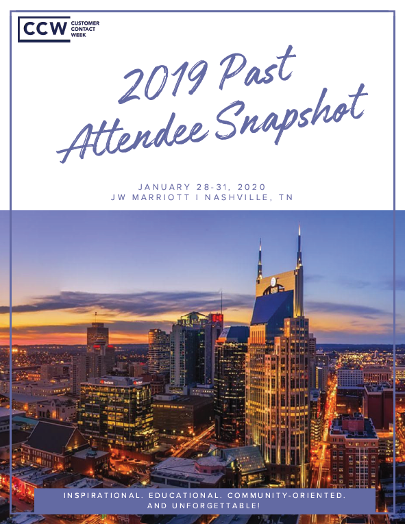 2019 Past Attendee Snapshot