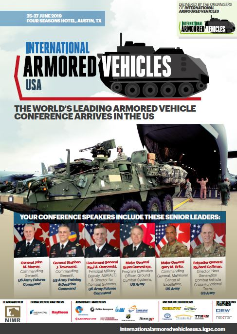 International Armored Vehicles USA Event Agenda