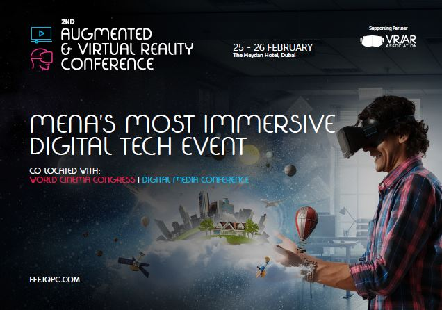 Brochure: 2nd Augmented & Virtual Reality Conference