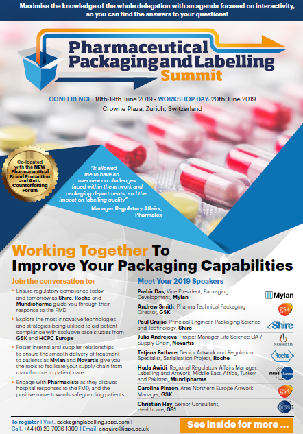 Download the Event Guide l Pharmaceutical Packaging and Labelling Summit