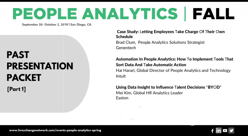 Insights from On-Site - People Analytics - Part 1