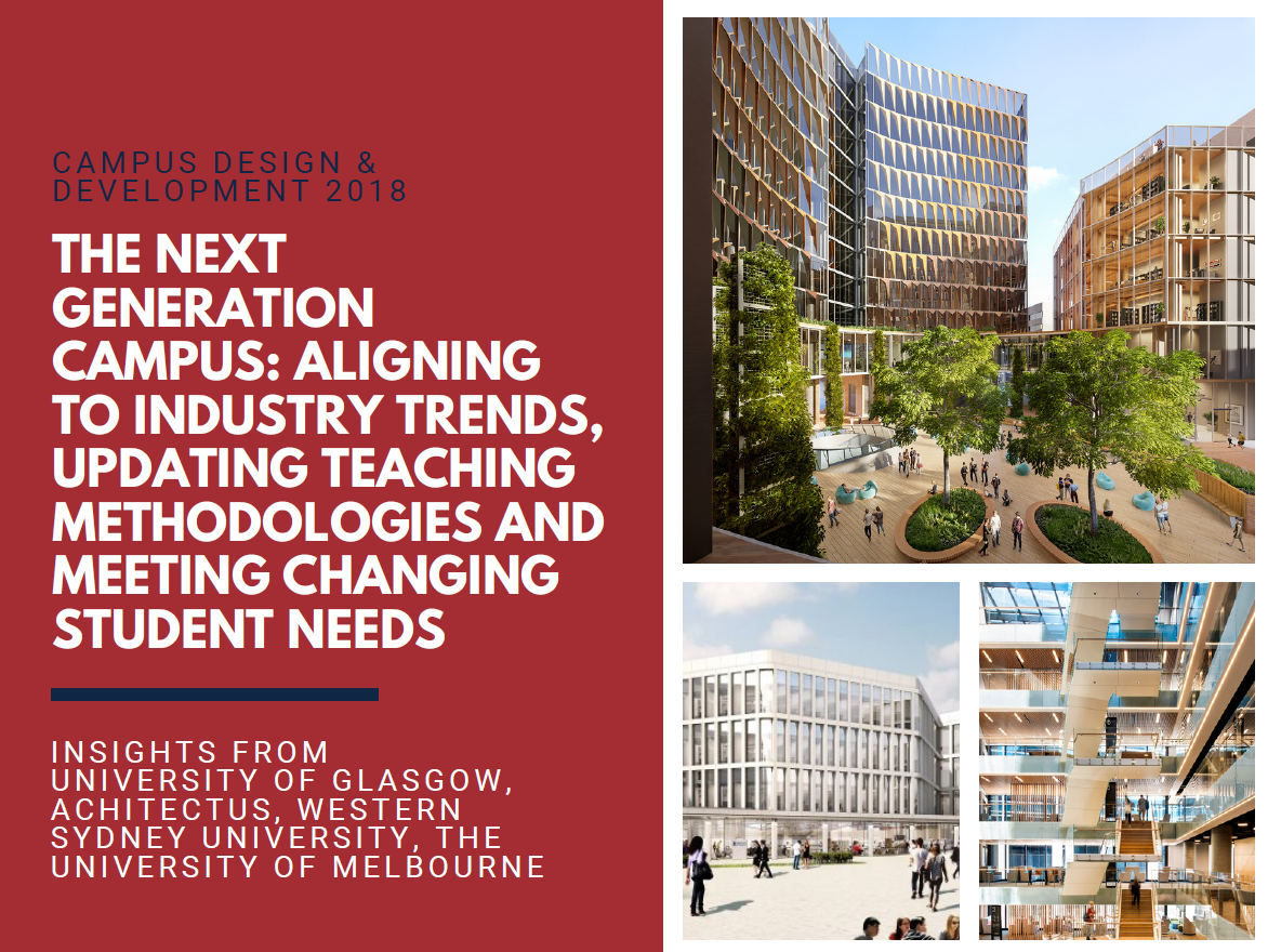 The Next Generation Campus: Aligning to Industry Trends, Updating Teaching Methodologies and Meeting Changing Student Needs