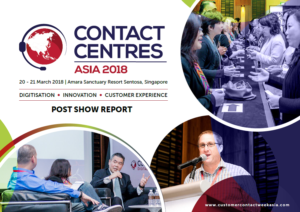 Contact Centres Asia 2018 Post Show Report