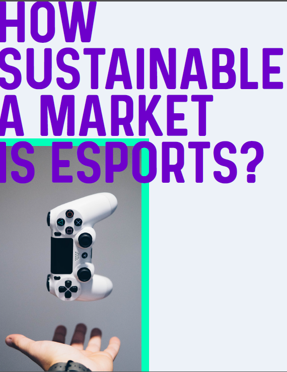 How sustainable is the esports industry?