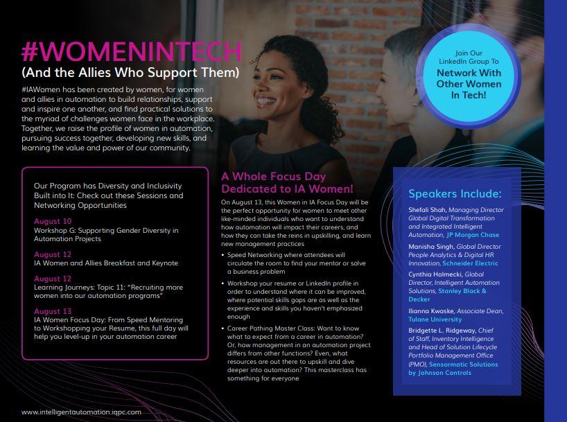 Women in Tech Focus Day