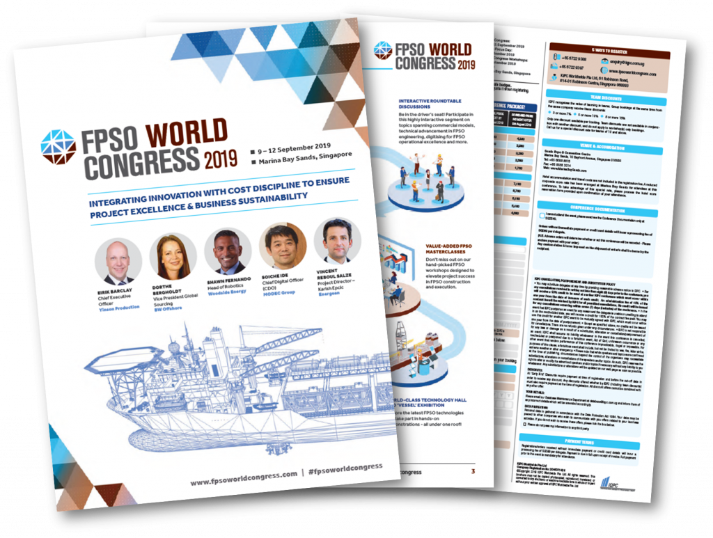 2019 FPSO World Congress Brochure