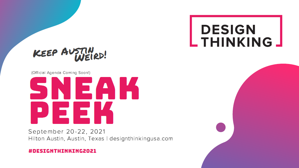 2021 Design Thinking Event Guide & Agenda Sneak Peek