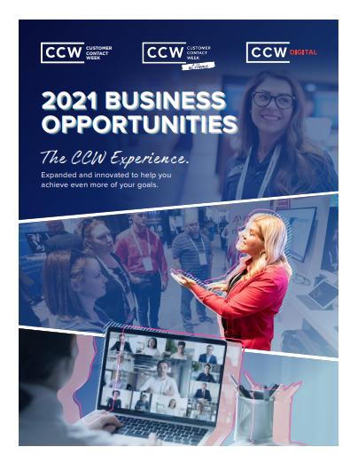 2021 Business Opportunities - John Wiegman