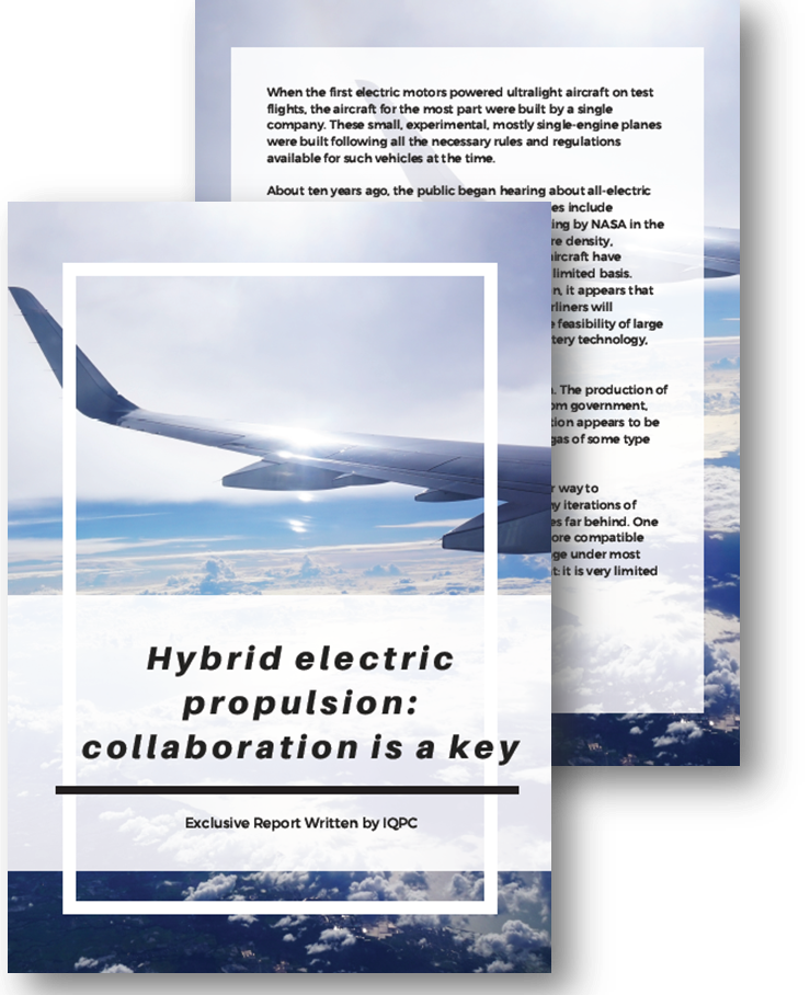 Hybrid electric propulsion: Collaboration is a key