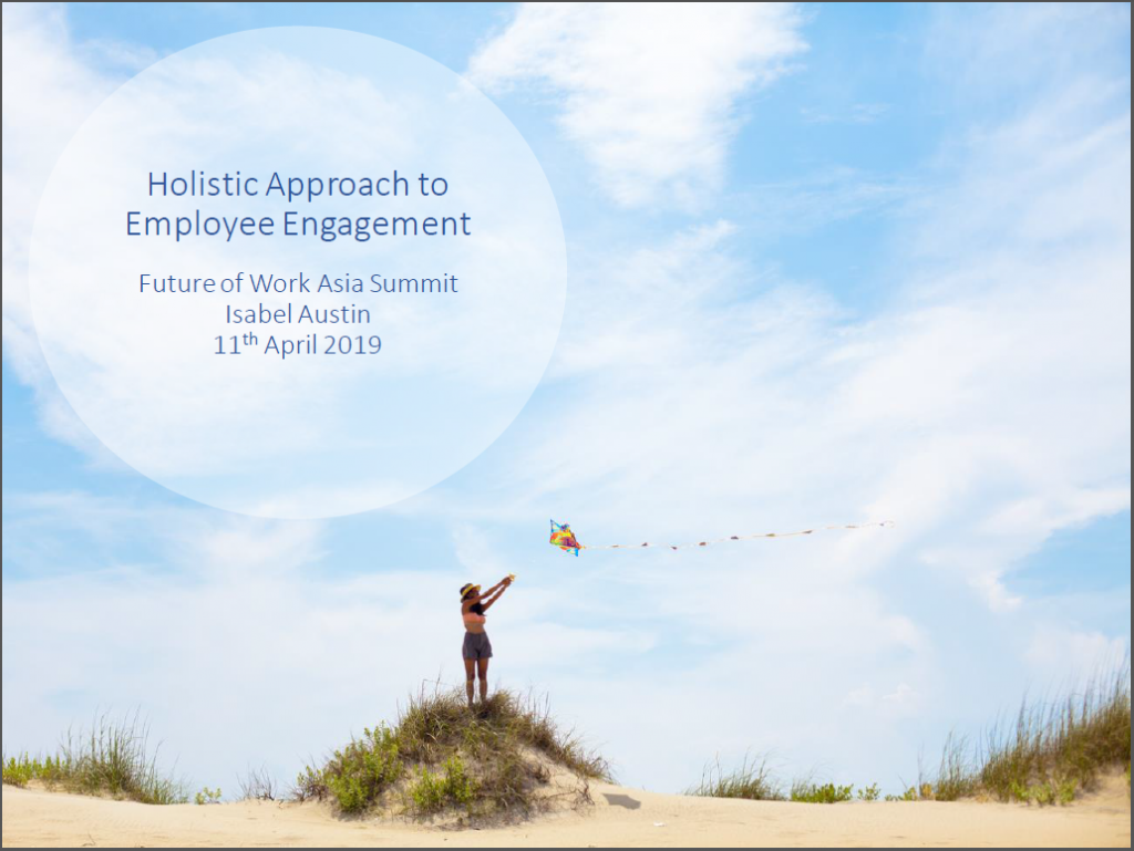 Read 2019 Presentation - Holistic Approaches to Employee Engagement and Customer Experience