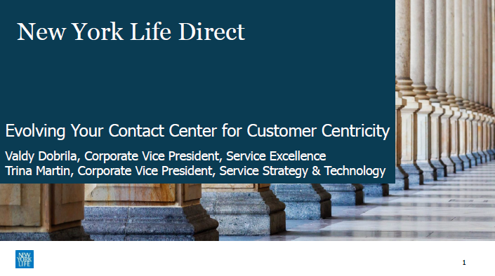 Evolving Your Contact Center for Customer Centricity