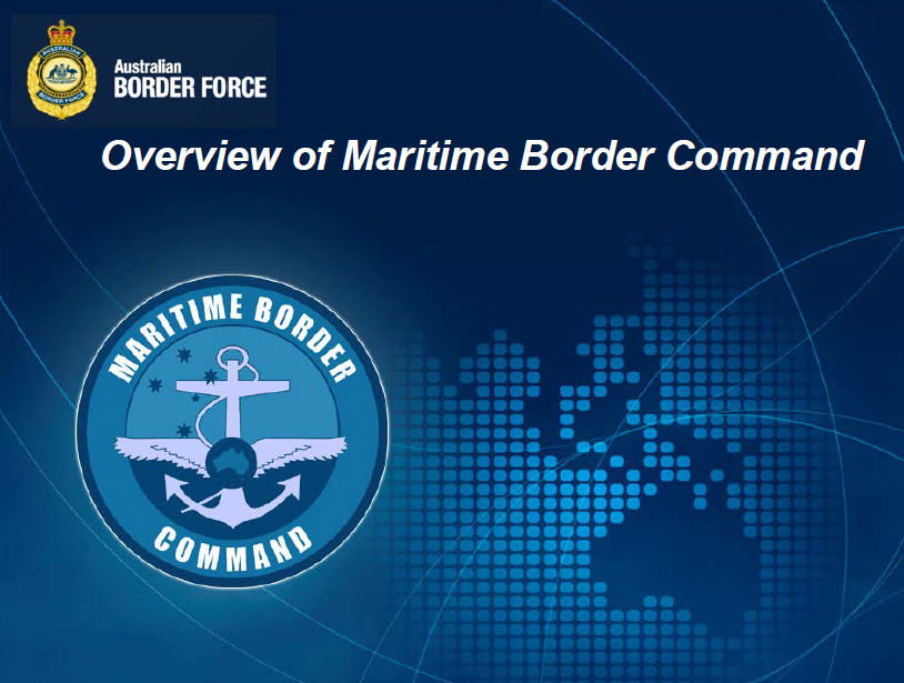 Overview of Maritime Border Command
